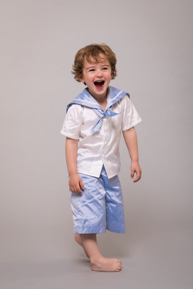 silk page boy suit sailor suit