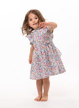junior bridesmaid dress liberty print flower girl