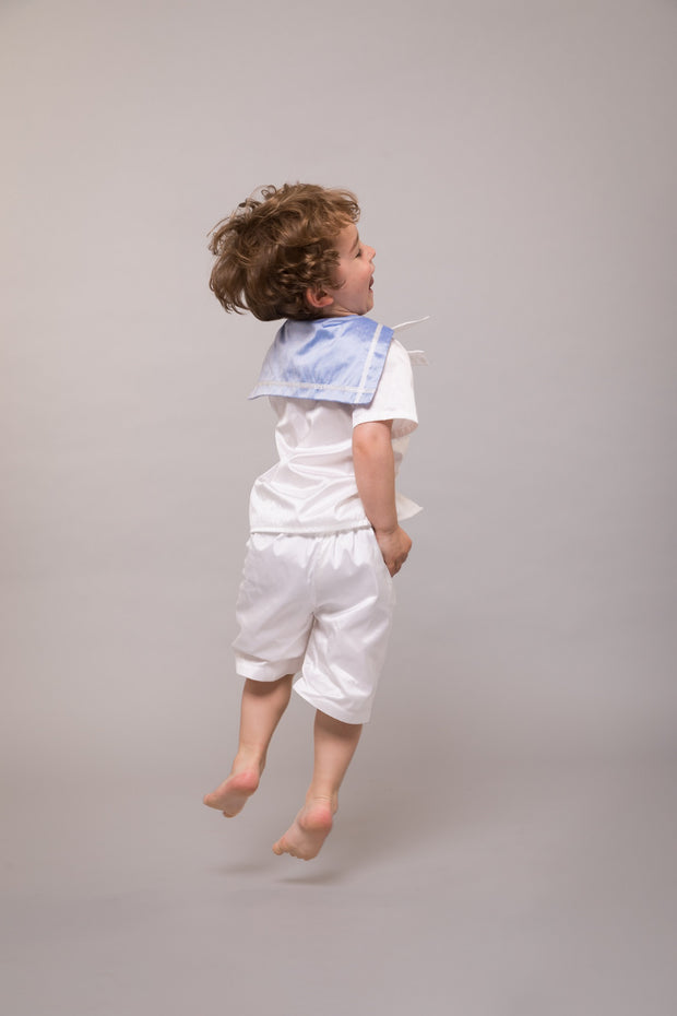 "Silk Page Boy Sailor Suit - ""Edward"""