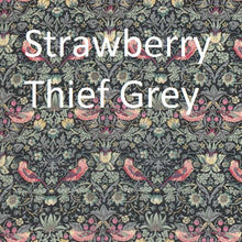 """Joanna"" Liberty Bonnet - Strawberry Thief Grey"