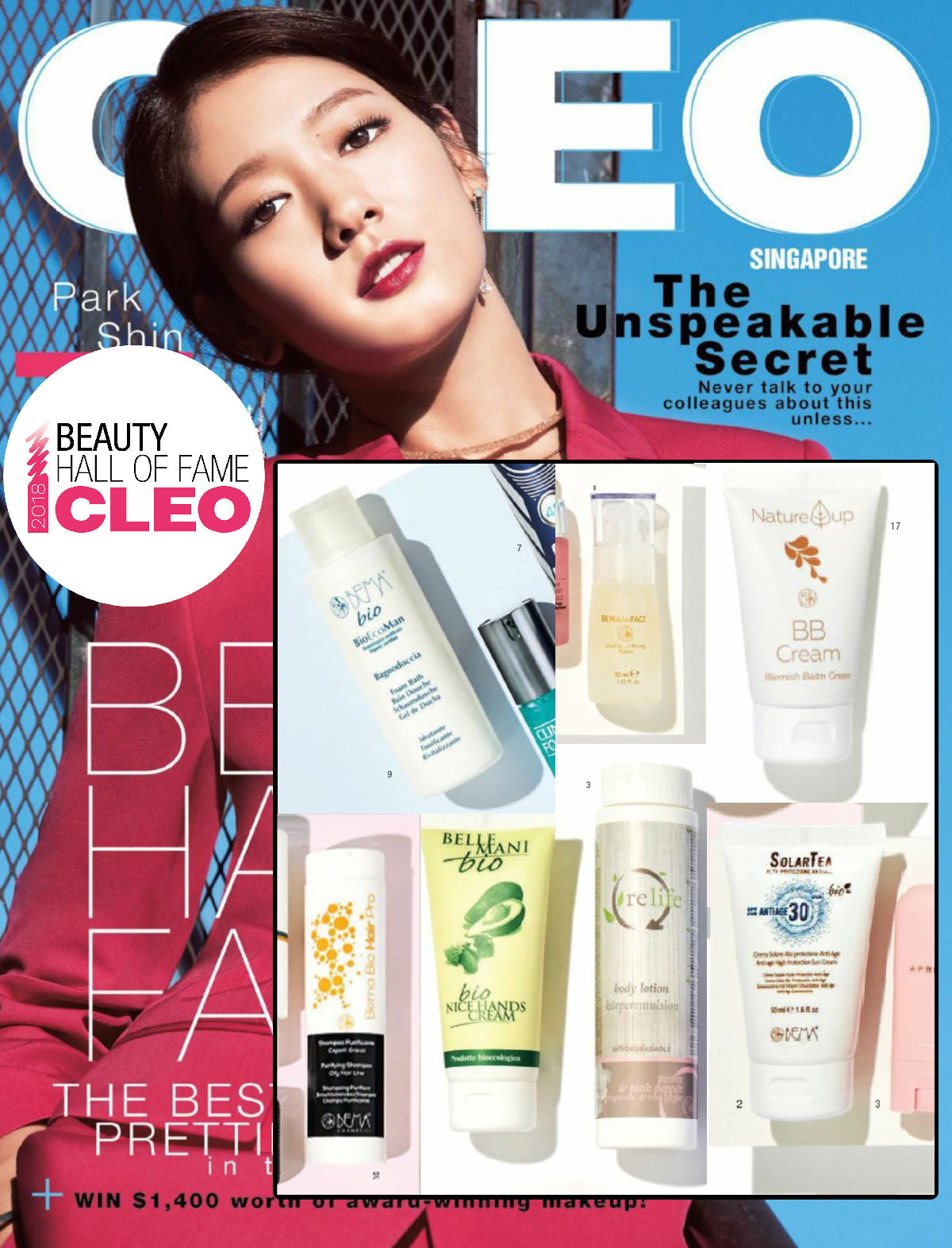 2018 Cleo Beauty Hall Of Fame Awards Winner Bema Cosmetici