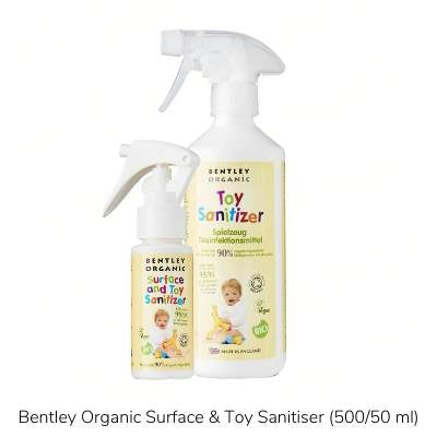 Bentley Organic Surface and Toy Sanitiser