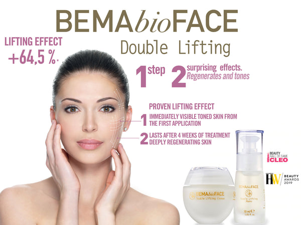 Bema Bio Double Lifting Line Anti-Ageing Cream and Serum