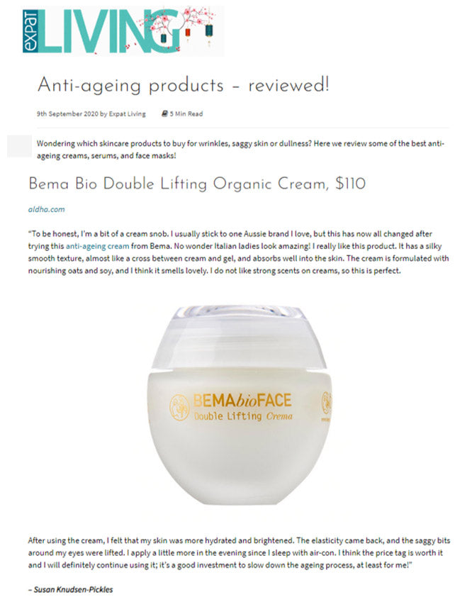 Expat Living Best anti-ageing creams reviewed and approved by some over 40's