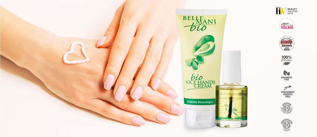 Nice Hands Bio Hand and Nail Organic Natural Vegan Clean Beauty Sustainable Manicure set Singapore
