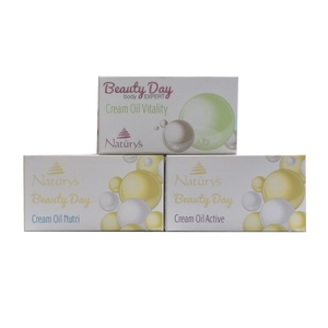 Cream Oil Beauty Set - Aldha