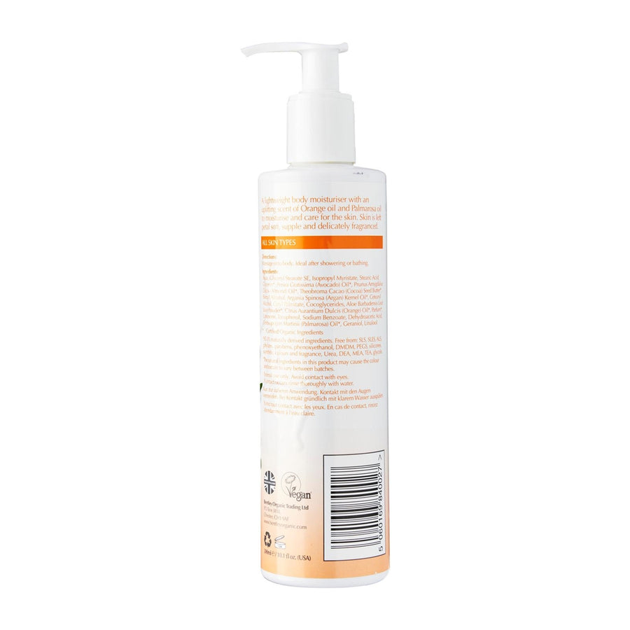 Orange & Palmarosa Organic Body Lotion - Aldha