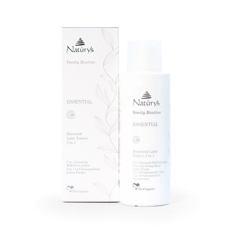 Essential Organic 2 In 1 Cleansing Milk/Tonic Lotion - Aldha