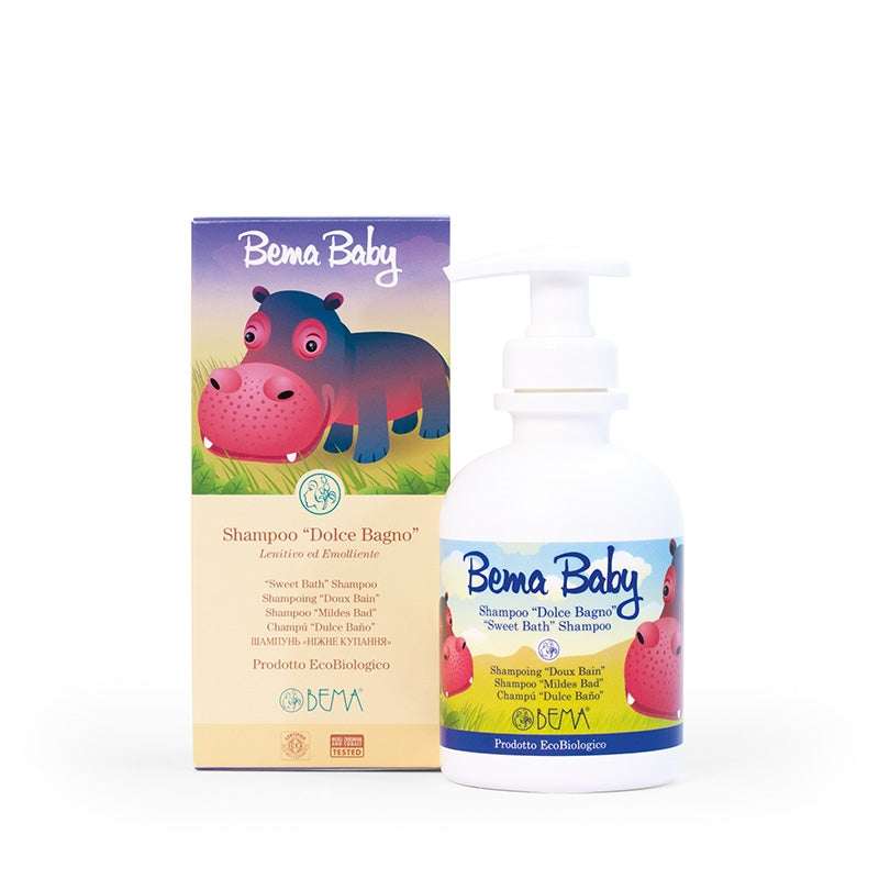 "BEMA Baby ""Sweet Bath"" Shampoo Soothing and Smoothing - Aldha"