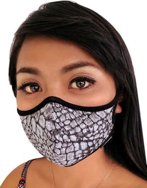 Primal Festival N97 Face Mask with Embedded Filter. 99.99% protection at PM2.5 Microns • Organic bamboo inner. - Aldha