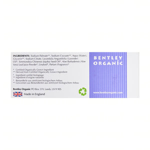 BENTLEY Organic Calming & Moisturising Soap Bar - Aldha