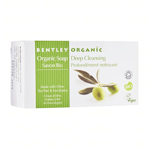 BENTLEY Organic Deep Cleansing Soap Bar - Aldha