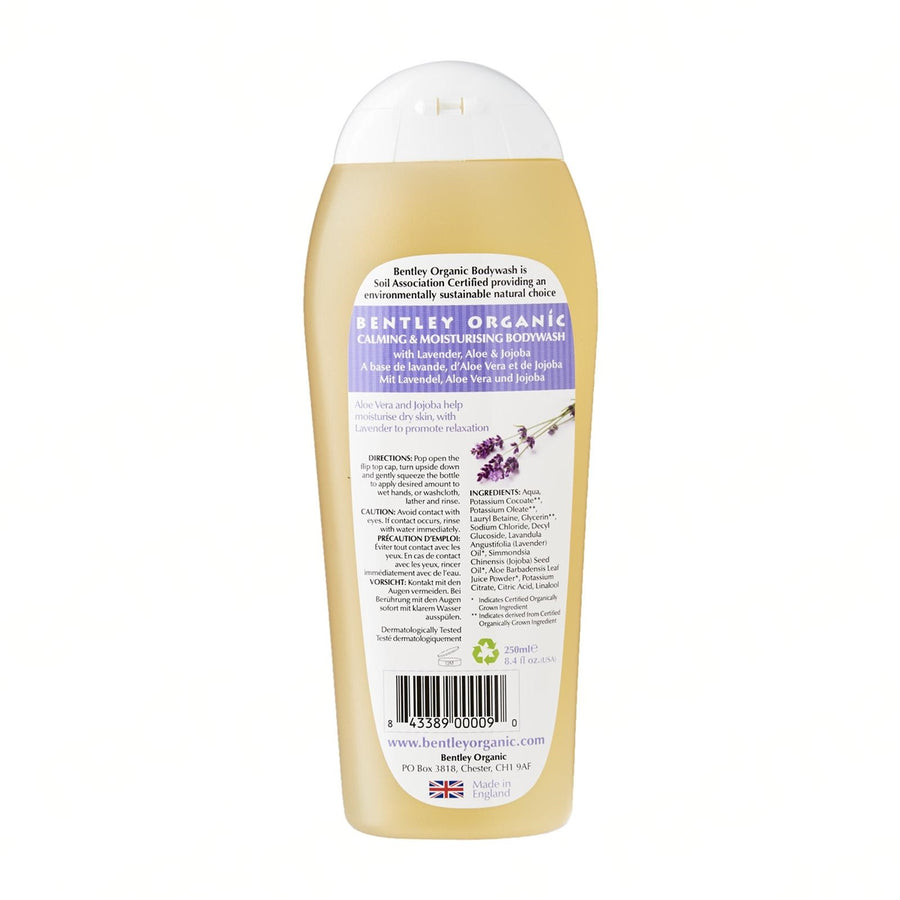 Organic Calming and Moisturising Bodywash - Aldha