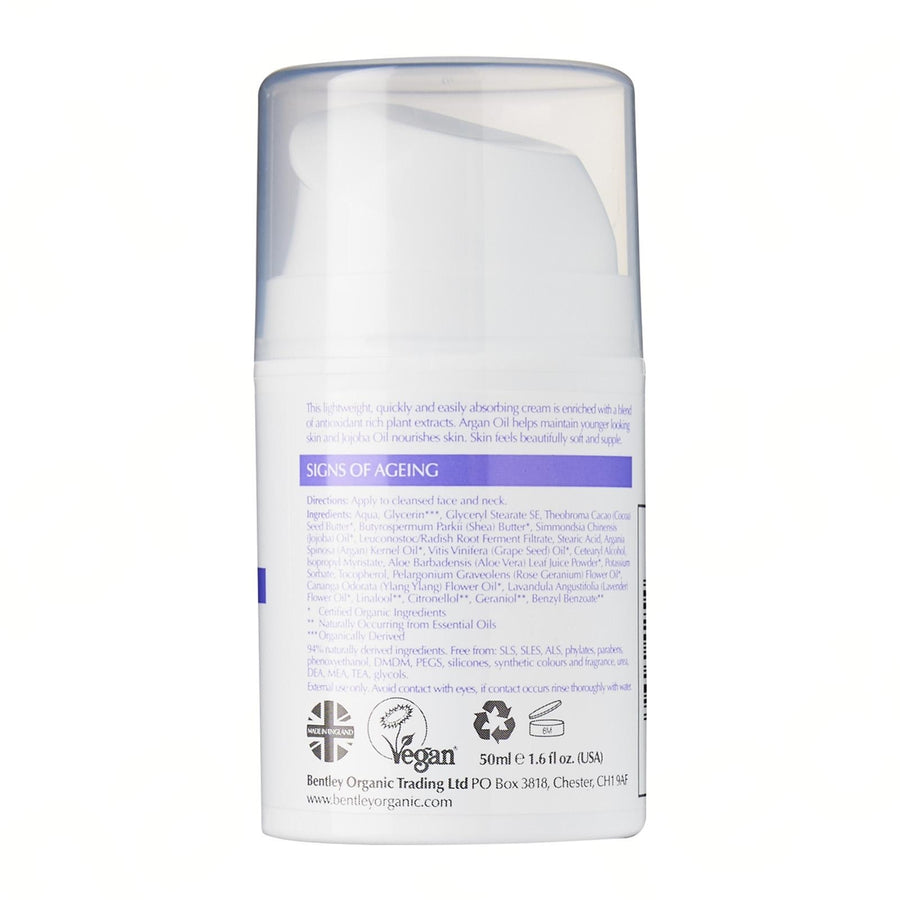 Organic Age Resist Face Cream - Aldha