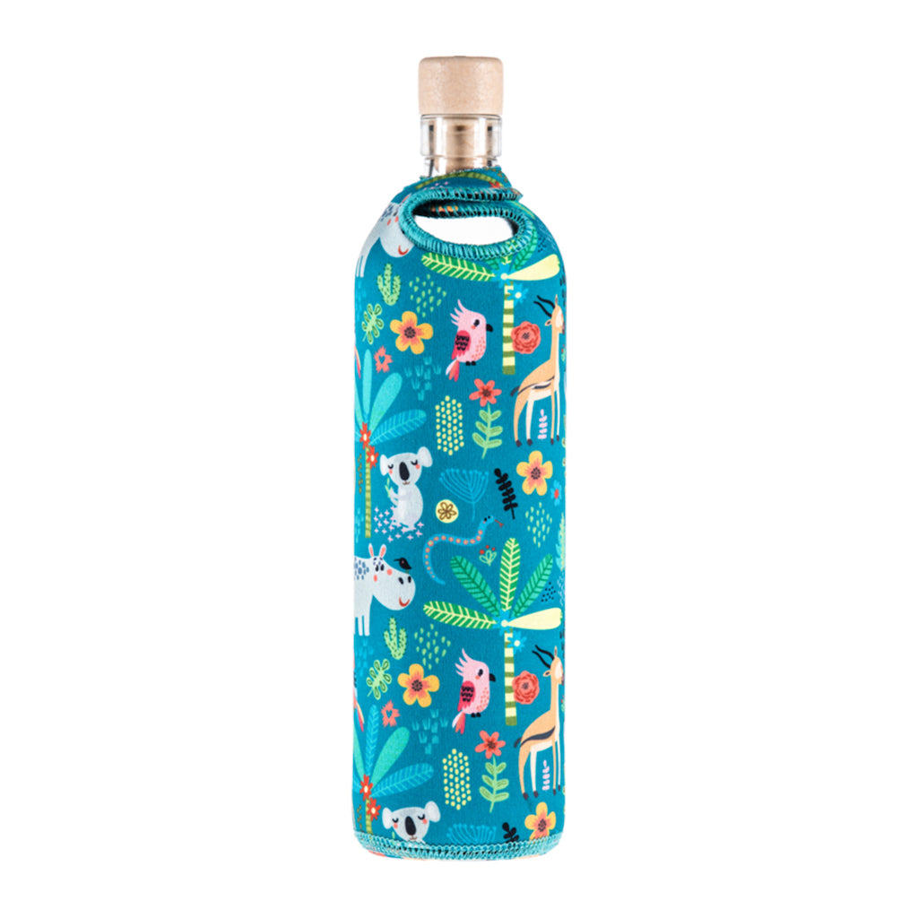 Neo Design Neoprene Water Restructuring Glass Bottle - Aldha