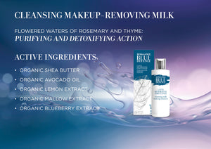 Blue Defence Organic Cleansing Milk Make-Up Remover - Aldha
