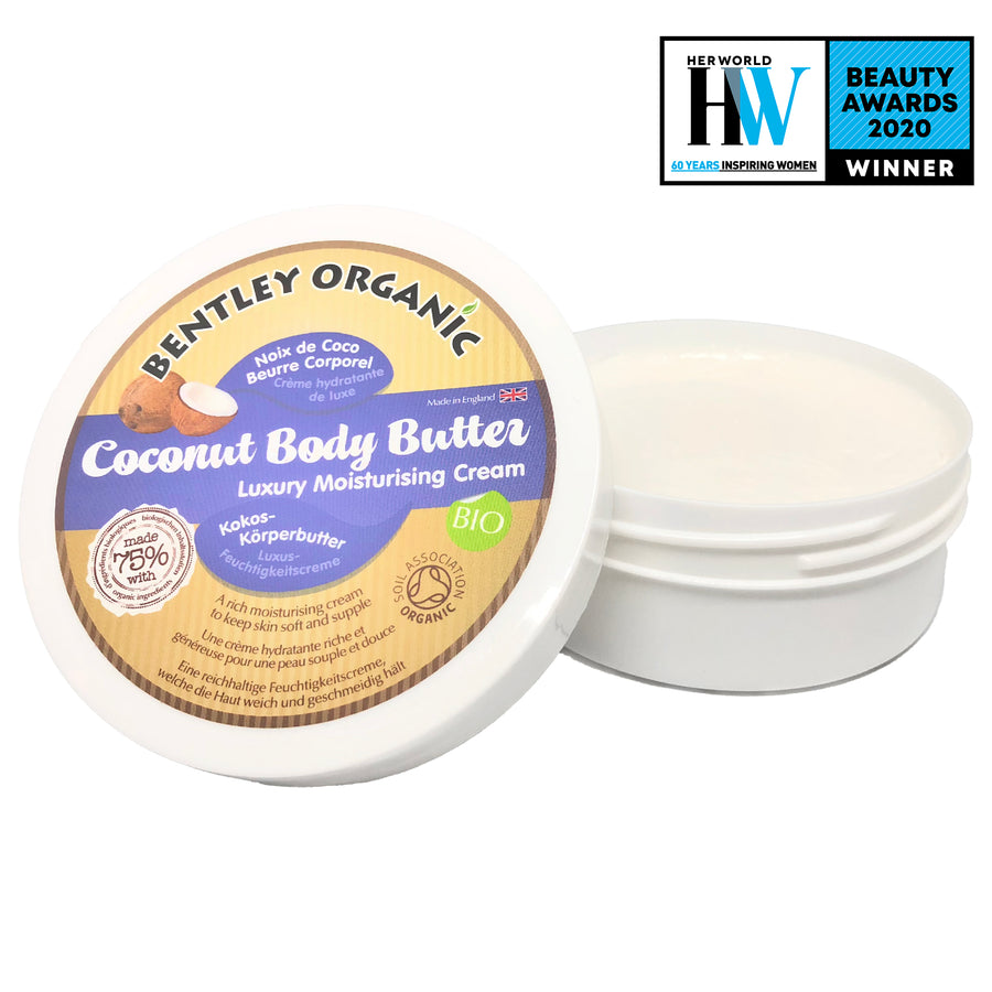 Organic Coconut Body Butter - Aldha