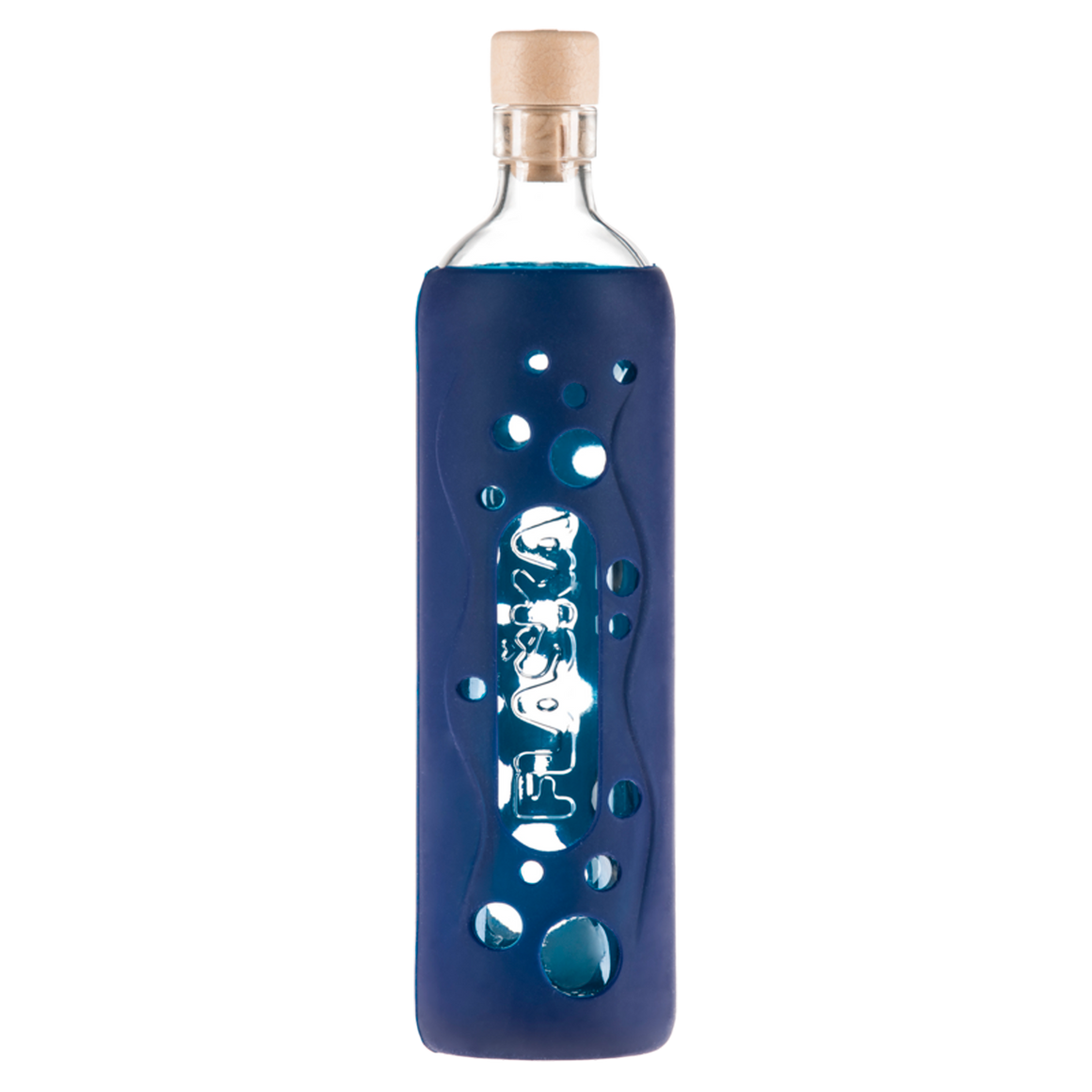 Flaska Grip Collection - Deep Blue (300/500 ml) - Aldha