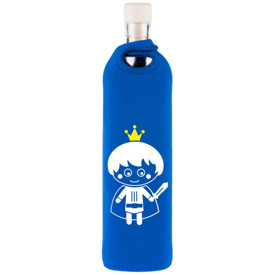 Neo Design Kids Neoprene Water Restructuring Glass Bottle 300 ml - Aldha