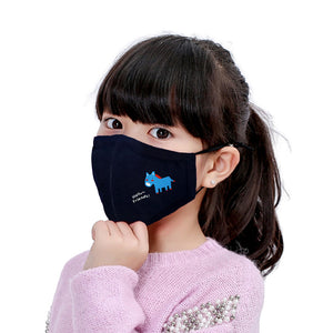 N95 KN95 Filter PM2.5 Childrens Face Mask Washable with Replaceable Anti-Pollution Activated Carbon Filter - Aldha