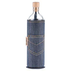Flaska Jeans Water Restructuring Glass Bottle - Aldha