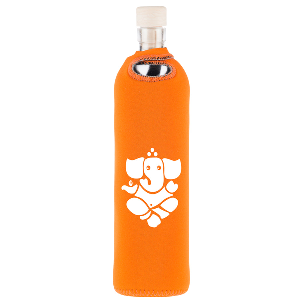 Spiritual Neoprene Water Restructuring Glass Bottle - Aldha