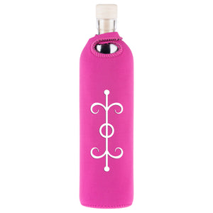 Spiritual Law of Attraction Water Restructuring Glass Bottle - Aldha