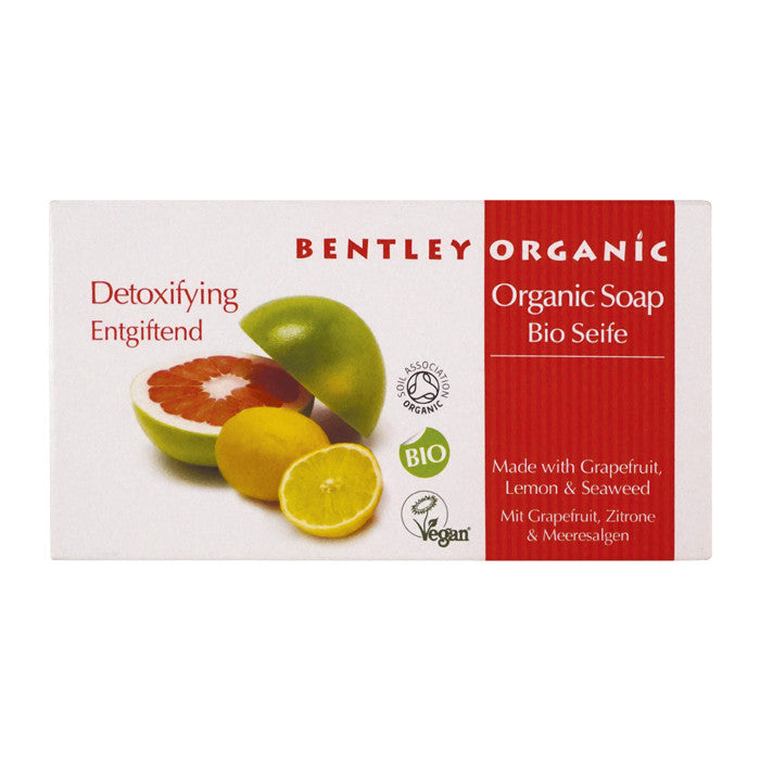 BENTLEY Organic Detoxifying Soap Bar - Aldha