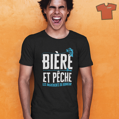 Tee shirt pêche : Notre collection.