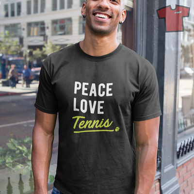 Notre collection Tee shirt humour tennis