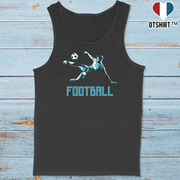 Débardeur homme football fan sport