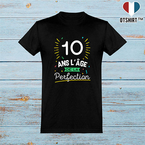 T shirt homme 10 ans la perfection