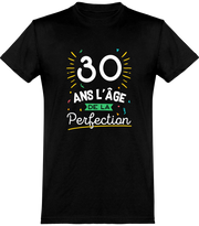 T shirt homme 30 ans la perfection