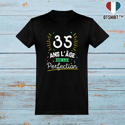 T shirt homme 35 ans la perfection