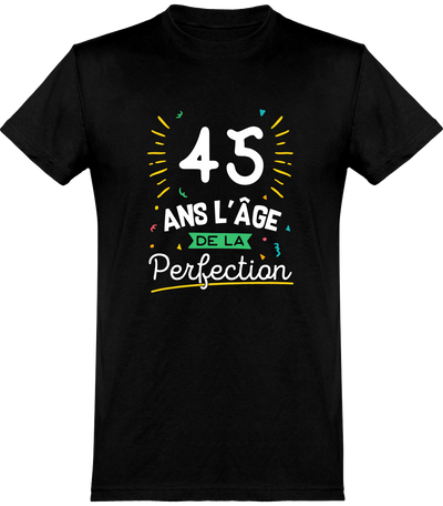 T shirt homme 45 ans la perfection