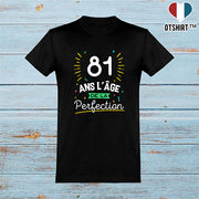 T shirt homme 81 ans la perfection
