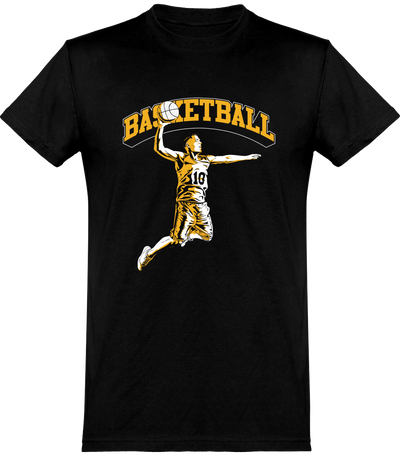 T shirt homme basketball fan