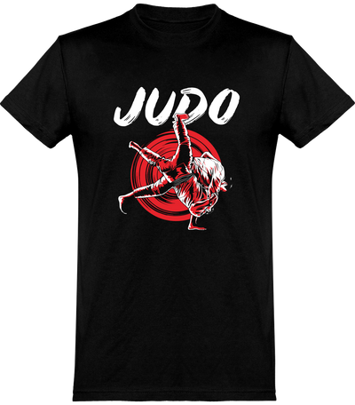 T shirt homme judo fan