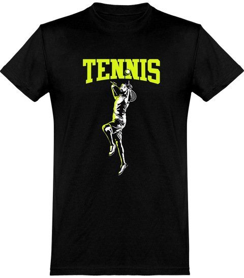 T shirt homme tennis fan