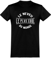 T shirt homme le neveu le plus cool du monde