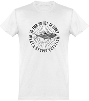 T shirt homme to fish or not to fish