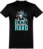 T shirt homme train hard