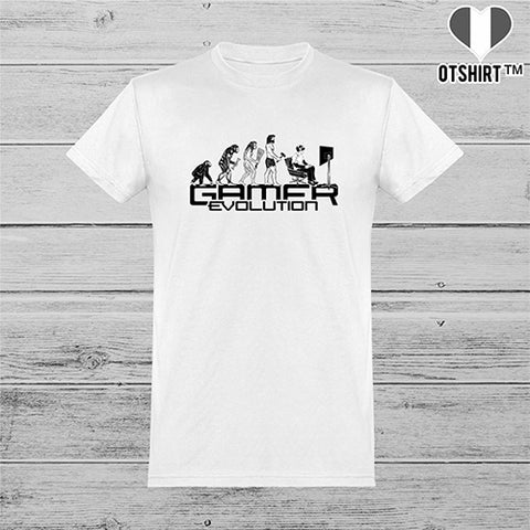 T shirt homme gamer evolution