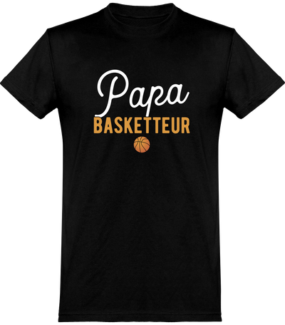 T shirt homme papa & basketteur