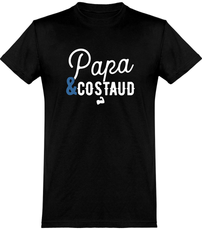 T shirt homme papa & costaud