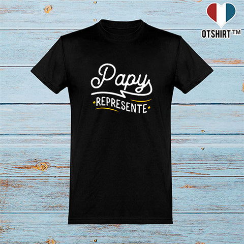 T shirt homme papy represente