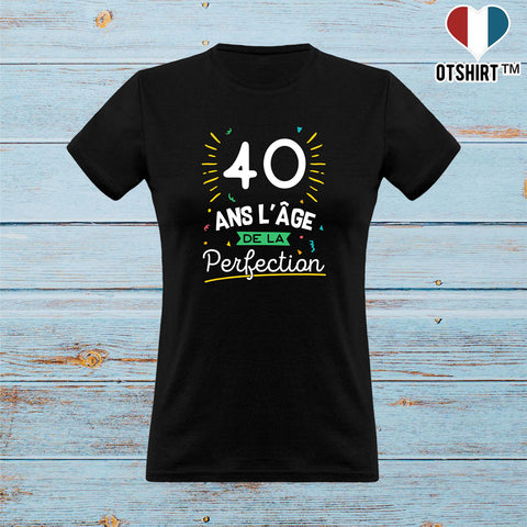 T shirt femme 40 ans la perfection