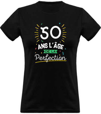 T shirt femme 50 ans la perfection
