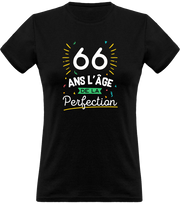 T shirt femme 66 ans la perfection