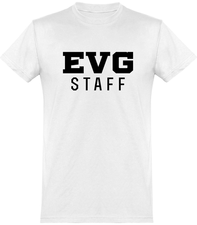 T shirt homme evg staff